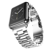 Stainless Steel Watch Strap Apple Watch 38 / 40 mm zilver