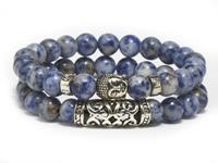 Lucifer's Luxury unisex armband Blue Buddha