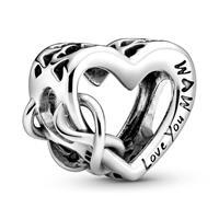 Pandora 798825C00 Bedel zilver Love You Mum Infinity Heart
