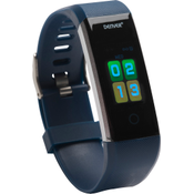 """Denver BFH-16 BLUE Fitnessband Bluetooth 4.0 Heartrate Monitor USB 0.96"""" TFT Display IP-67 Waterproof Standby Time 7-10 Days Blue BFH-16 BLUE"""