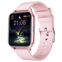 Waterbestendig Smartwatch met Hartslag Q26 - Roze