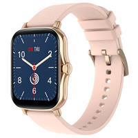 Lemfo Y20 Waterbestendig Smartwatch met Hartslag - Rose Gold