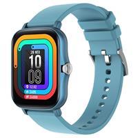 Lemfo Y20 Waterbestendig Smartwatch met Hartslag - Blauw