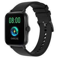 Lemfo Y20 Waterbestendig Smartwatch met Hartslag - Zwart