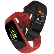 Lamax BFit PRO2 LCD Wristband activity tracker 2.44 cm (0.96) IP67 Black, Red