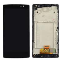 LCD Screen + Touch Screen Digitizer Assembly with Frame for LG SPIRIT / H440n / H441 / H443(Black)
