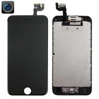 4 in 1 for iPhone 6s (Front Camera + LCD + Frame + Touch Pad) Digitizer Assembly(Black)