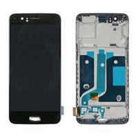 OnePlus 5 Voorzijde Cover & LCD Display - Zwart