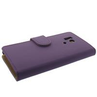 Bookstyle Hoesje Huawei Honor 3 Mat Paars