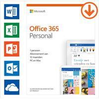 Microsoft Office 365 Personal - Jaarabonnement - 1 Gebruiker