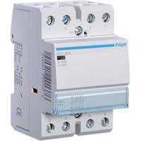 Hager ESC464 - Installation contactor 230VAC 0 NO/ 4 NC ESC464