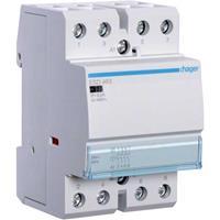 Hager ESD463 (4 Stück) - Installation contactor 24VAC 4 NO/ 0 NC ESD463