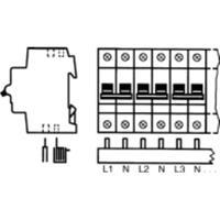 ABB PS4/12NA - Phase busbar 4-p 10mm² PS4/12NA