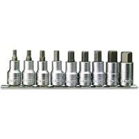 Teng Tools - M1212 9-delige Doppenset - Inbus - 5-17mm