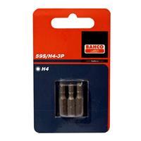 """Bahco 59S/H5-3P 1/4"""" Inbus Bit 5mm - 25 mm (3st)"""