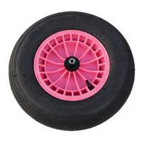 Fort 80050 Wiel kunststof roze - 20mm