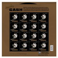 Fiftiesstore Johnny Cash Postzegelvel