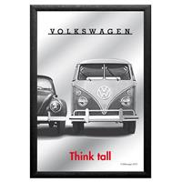 Fiftiesstore Volkswagen Think Tall Spiegel