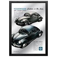 Fiftiesstore Volkswagen Custom And De Luxe Spiegel