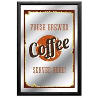 Fiftiesstore Fresh Brewed Coffee Spiegel
