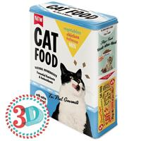 Cat Food Tin Box XL