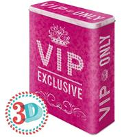 VIP Only Pink Tin Box XL