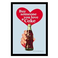 Fiftiesstore Coca-Cola Buy Someone You Love A Coke spiegel