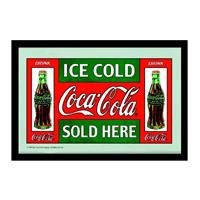 Fiftiesstore Coca-Cola Ice Cold Sold Here spiegel