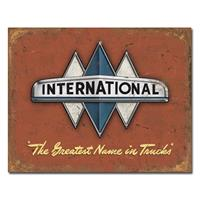 Fiftiesstore International The Greatest Name in Trucks Metalen Poster