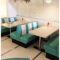 Fiftiesstore Bel-Air Retro Diner Set Turquoise