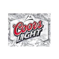 Fiftiesstore Coors Light Beer Metalen Bord