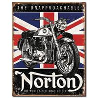 Fiftiesstore Metal Poster - Norton The Unapproachable