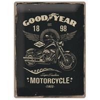 Fiftiesstore Tin SignGood Year Motorcycle' 30 x 40 cm