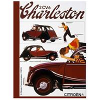 Fiftiesstore Citroën 2CV6 Charleston Metalen Bord