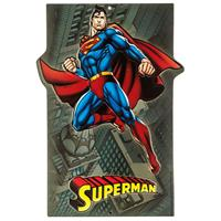 Fiftiesstore Superman Embossed Metal Sign 32 x 23 cm