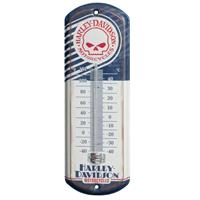 Fiftiesstore Harley-Davidson Schedel Mini Thermometer LAATSTE KANS
