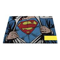 Fiftiesstore Superman Logo deur mat - DC Comics