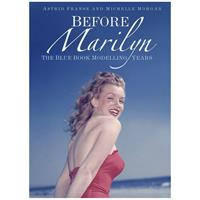Fiftiesstore Before Marilyn: The Blue Book Modelling Years Marilyn Monroe Hardcover Boek - Astrid Franse en Michelle Morgan
