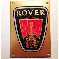 Fiftiesstore Rover Emaille Bord