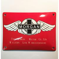 Fiftiesstore Morgan Motor Co. Ltd. Emaille Bord