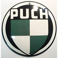 Fiftiesstore Puch Emaille Bord
