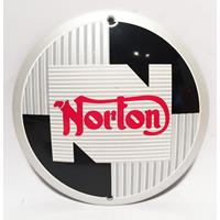 Fiftiesstore Norton Logo Emaille Bord