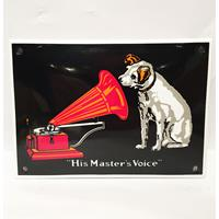 Fiftiesstore His Master's Voice Emaille Bord