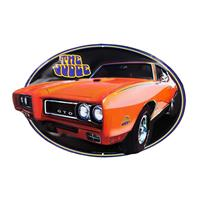 Fiftiesstore Dodge GTO The Judge Embossed Tin Sign
