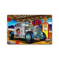 Fiftiesstore Speed Demon Hot Rod Gas Station Zwaar Metalen Bord