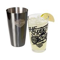 Fiftiesstore Harley-Davidson Bar & Shield Boston Cocktailshaker Set - LAATSTE KANS