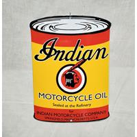 Fiftiesstore Indian Motorcycle Oil Emaille Bord