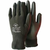 Handschoen PU-flex nylon zwart categorie 2 maat 11 / XXL