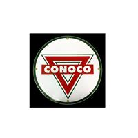 Fiftiesstore Conoco Logo Emaille Bord