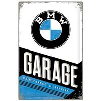 Fiftiesstore BMW Garage Maintenance & Repairs Metalen Bord 40 x 60 cm